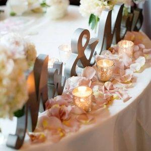 Dresses & Skirts - Mr & Mrs sign, wedding decor